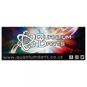 Quantum Darts Sticker
