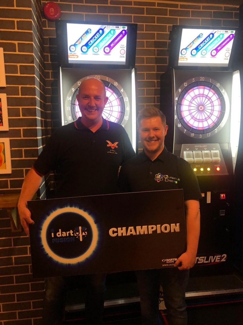 Quantum Darts Welcomes Scott Marsh To The Team