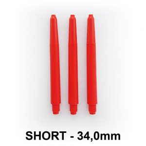 Short Nylon Dart Shafts – Red