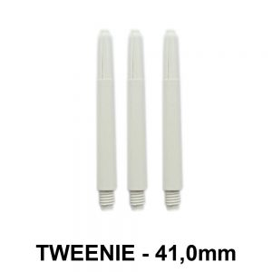 Tweenie Nylon Dart Shafts – White