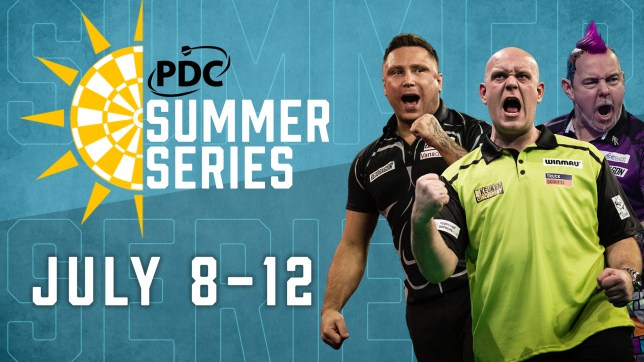 Player Entries Confirmed For The PDC Summer Series