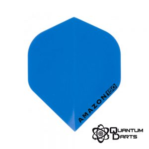 Amazon Blue Super Strong Dart Flights – 150 Micron Standard
