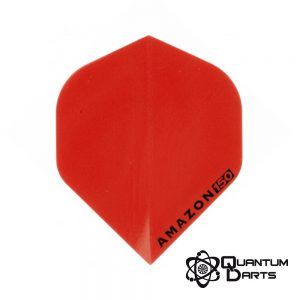 Amazon Red Super Strong Dart Flights – 150 Micron Standard