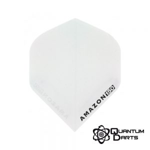 Amazon White Super Strong Dart Flights – 150 Micron Standard