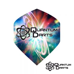 Quantum Signature Bright Space Dart Flights – 100 Micron Standard