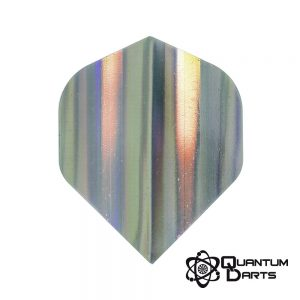 Silver Shimmer Dart Flights – 75 Micron Standard
