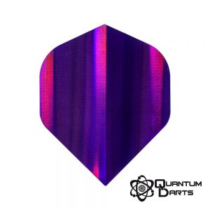 Purple Shimmer Dart Flights – 75 Micron Standard