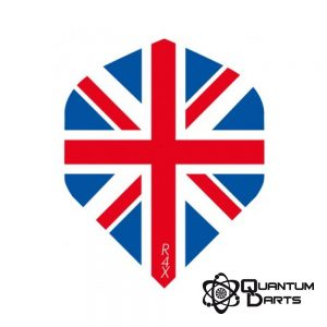 Union Jack Dart Flights – 100 Micron Standard