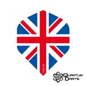 Union Jack Dart Flights – 100 Micron Standard