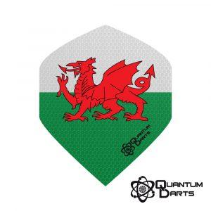 Quantum Signature Wales Dart Flights – 100 Micron Standard