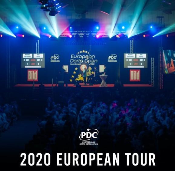 Darts European Tour 2021