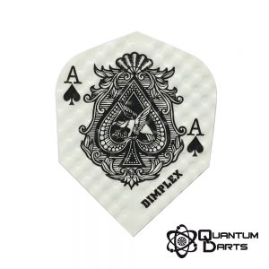 Dimplex Ace Of Spades Dart Flights – 75 Micron Standard