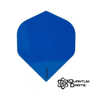 Plain Blue Dart Flights – 100 Micron Standard