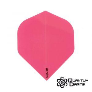 Plain Pink Dart Flights – 100 Micron Standard