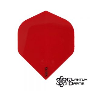 Plain Red Dart Flights – 100 Micron Standard