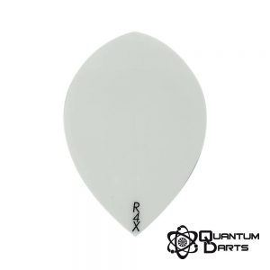 Plain White Dart Flights – 100 Micron Pear