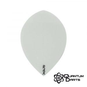 Plain White Dart Flights – 100 Micron Pear