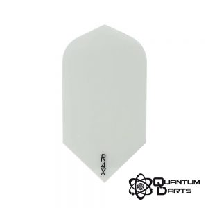 Plain White Dart Flights – 100 Micron Slim