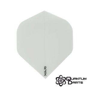 Plain White Dart Flights – 100 Micron Standard
