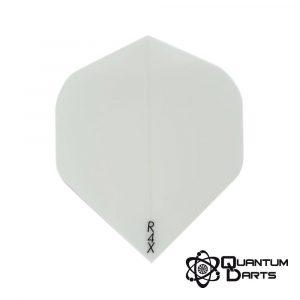 Plain White Dart Flights – 100 Micron Standard