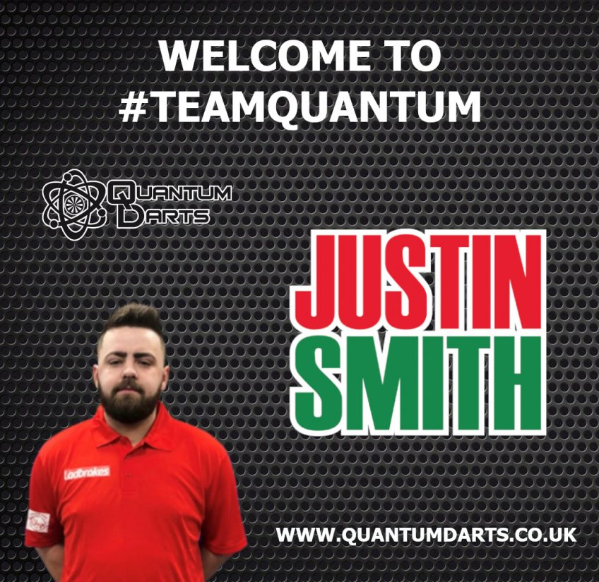 Justin Smith Signs With Quantum Darts